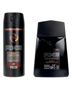 Set de Perfume Hombre Dark Temptation Axe EDT (3 pcs) 0