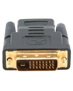 Adaptador HDMI a DVI GEMBIRD A-HDMI-DVI-2 Negro 0