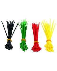 Bridas Nylon GEMBIRD NCT-100 (100 uds) Multicolor 0