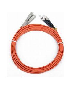 Cable Fibra Óptica Duplex Multimodo GEMBIRD CFO-STSC-OM2-5M (5 m) 0