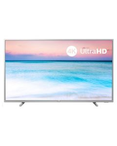 "Smart TV Philips 50PUS6554 50"" 4K Ultra HD LED WiFi Plateado"