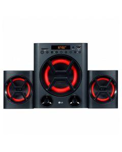 Microcadena de Música LG LK72B 40W Bluetooth Negro Rojo