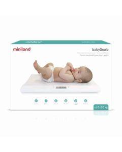 Báscula para Bebés Miniland 89187 Blanco (Reacondicionado A+) 0