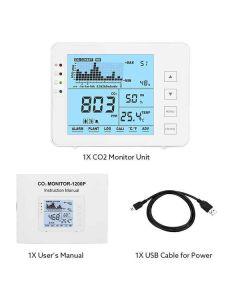 Sensor de Temperatura y Humedad Inteligente Elikliv (Reacondicionado A+) 0
