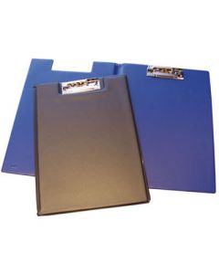 Carpeta grafoplas pinza fº clip troquelado y bolsa azul (01550030) 0