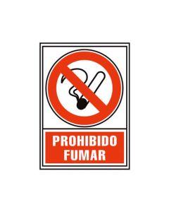 Placa señalizacion a. 2000 prohibido fumar 210x297 mm. (01c6174-02rj) 0
