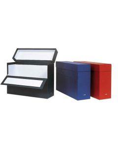 Caja elba transferencia fº lomo 100 mm. rojo (100580263) 0