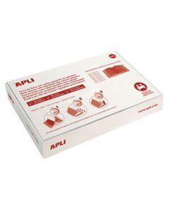 Forro libros apli ajustable 300 mm. pvc 130 micras (12281) 0