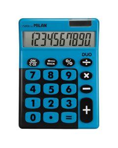 Calculadora milan duo 10 digitos teclas grandes azul (150610tdbbl) 0
