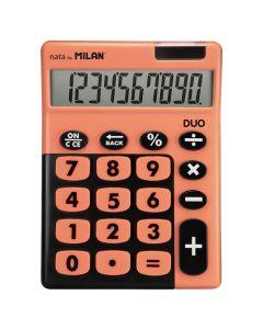 Calculadora milan duo 10 digitos teclas grandes naranja (150610tdobl) 0