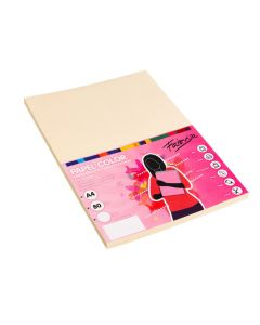 Papel paperline a4 80 grs. 500 hojas marfil (15636) 0