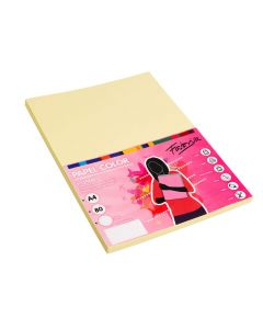 Papel paperline a4 80 grs. 500 hojas amarillo (15641) 0