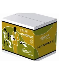 Papel continuo fabrisa blanco autoc. 240x11 3 hojas 2 trepados caja 1000 (16190) 0