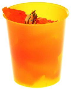 Papelera a. 2.000 16l. transl. naranja (2001natl) 0