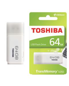 Pen drive 2.0 toshiba 64gb blanco (20142) 0