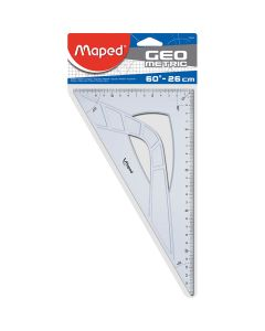 Cartabon maped 26 cm. geometric (242626) 0