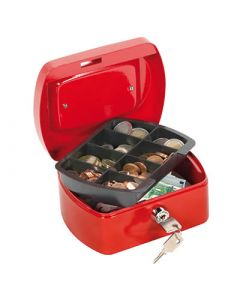 Caja caudales q-connect 200x160x90 mm. roja (37656) 0