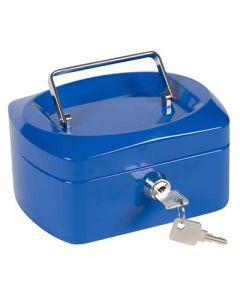 Caja caudales q-connect 200x160x90 mm. azul (37657) 0