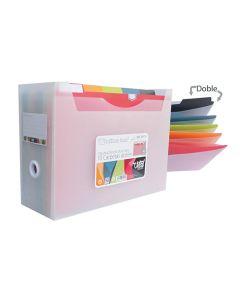 Organizador o. box 10 carpetas dobles desk free vital colors (39118) 0