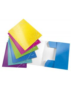 Carpeta esselte 3 solapas wow a4 carton turquesa (39820151) 0