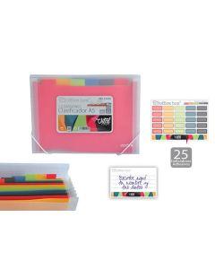 Clasificador o. box gomas 12 div. a5 vital colors (41018) 0