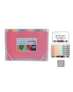 Clasificador o. box gomas 12 div. a4+ vital colors (41118) 0