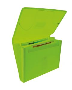 Clasificador colorline 12 divisiones plus con bolsillo para cuaderno col. surt. (41311) 0