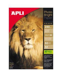 Papel photo apli bright 240 grs. 60 hojas (4137) 0
