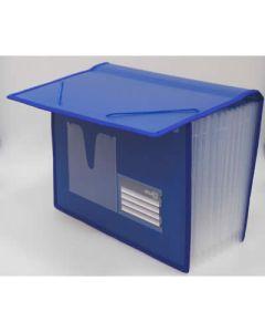 Organizador o. box fuelle 12 div. business class a4 azul (41627) 0