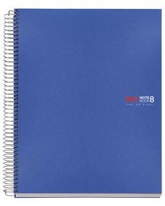 Cuaderno miquelrius notebook 8 a4 200h. cdla. pp azul (42004) 0