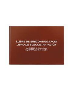 Libro miquelrius subcontratacion a4 20 hojas (5089) 0