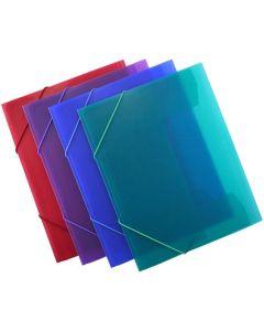 Carpeta o. box con goma supra a4 col. sur. (51615) 0