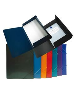 Carpeta o. box con goma supra maxi + 260x350 mm. col. sur. (51815) 0