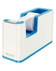 Dispensador de cinta adhesiva leitz wow dual azul/blanco (53641036) 0
