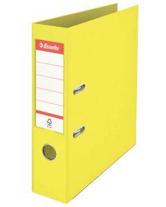 Archivador esselte colour'ice p.p. a4 75 mm. amarillo (626210) 0