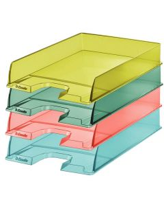 Bandeja portadocumentos esselte colour'ice amarillo (626272) 0