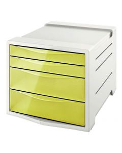 Buc 4 cajones esselte colour'ice amarillo (626282) 0