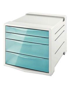 Buc 4 cajones esselte colour'ice azul (626284) 0