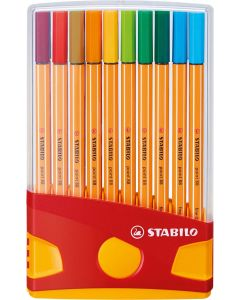 Estuche stabilo point 88 colorparade 20 colores brillantes (8820-03) 0