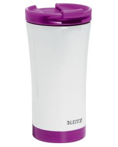 Taza travel termica wow 380 ml. violeta/blanco (90140062) 0