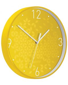 Reloj pared wow amarillo/blanco (90150016) 0
