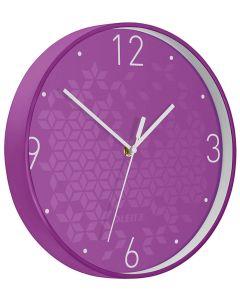 Reloj pared wow violeta/blanco (90150062) 0