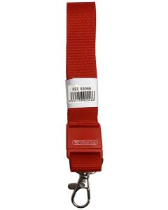 Cinta plana o. box para identificacion enganche rojo (92046) 0