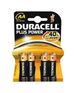 Pilas duracell plus power aa 4 pilas lr6 (940279) 0