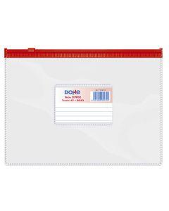 Bolsa dohe zipper a5 rojo (99474) 0