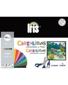 Minipack canson cartulinas 10 hojas 24x32 185 grs. (c200406282) 0