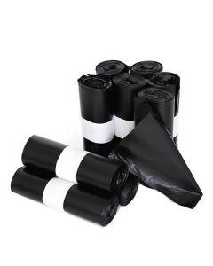 Rollo 25 bolsas basura negro 25 l. 52x58 cm. dahi (mcax52x58nr) 0