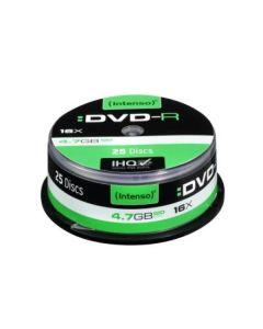 DVD-R INTENSO 4101154 16x 4.7 GB 25 pcs 0