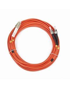Cable Fibra Óptica Duxplex Multimodo iggual IGG311561 LC / ST 10 m 0