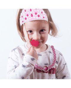 Accesorios Princesa para Fotos Divertidas (pack de 12)